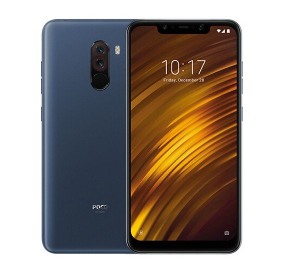 Xiaomi POCOPHONE F1 Dual SIM - 64GB, 6GB RAM, 4G LTE, Blue– International Version
