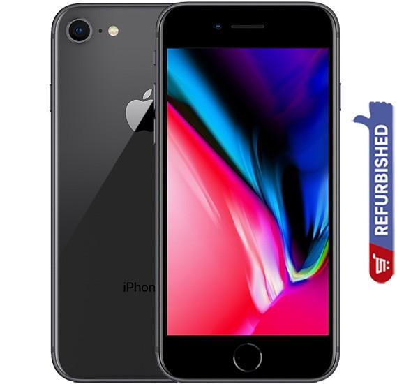 Apple iPhone 8, 64GB Storage, 4G LTE, Space Gray, Refurbished