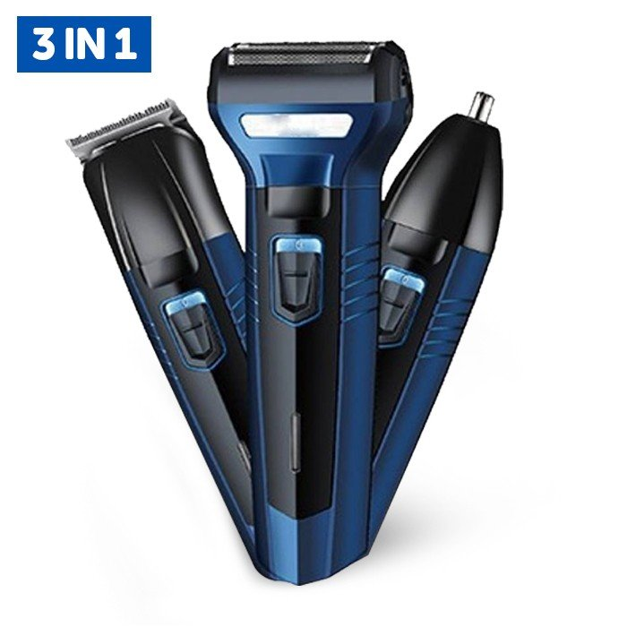 Geemy GM Waterproof 3 in 1 Hair Clipper and Trimmer -Assorted  GM566