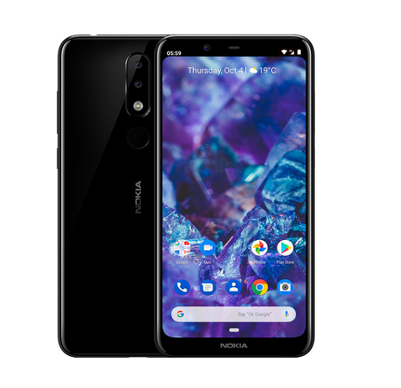 Nokia 5.1 Plus 3GB RAM 32GB Storage,black