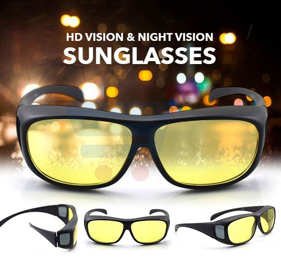 HD Vision & Night Vision Sunglasses
