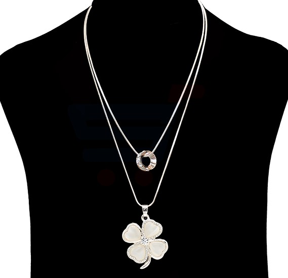 Fashion Jewelry Flower design Necklace NO.FJ-406