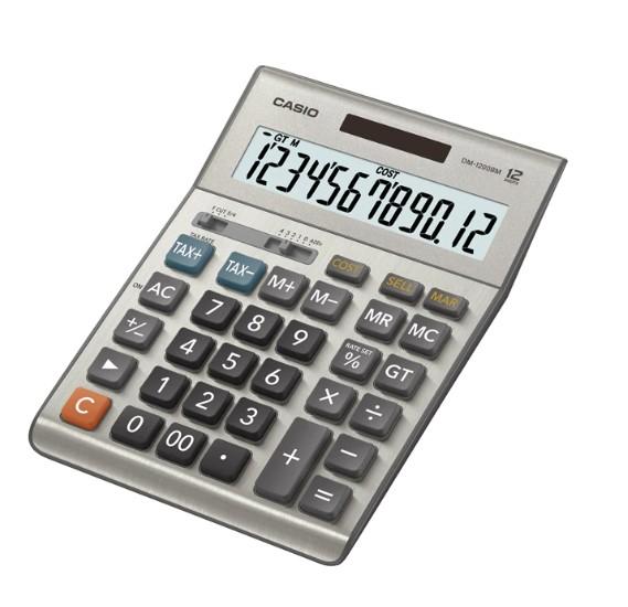 Casio Dm1200bm Calculator