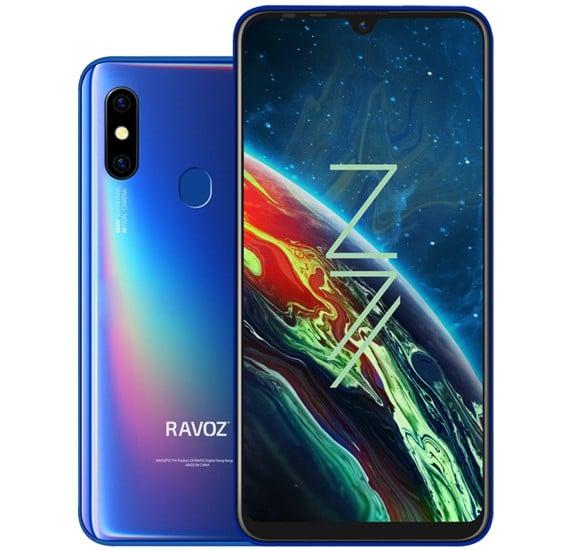 Ravoz Z7 Dual Sim 4GB RAM 64GB 4G LTE-Blue
