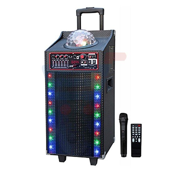 Geepas Rechargeable Trolley Speaker-GMS8502