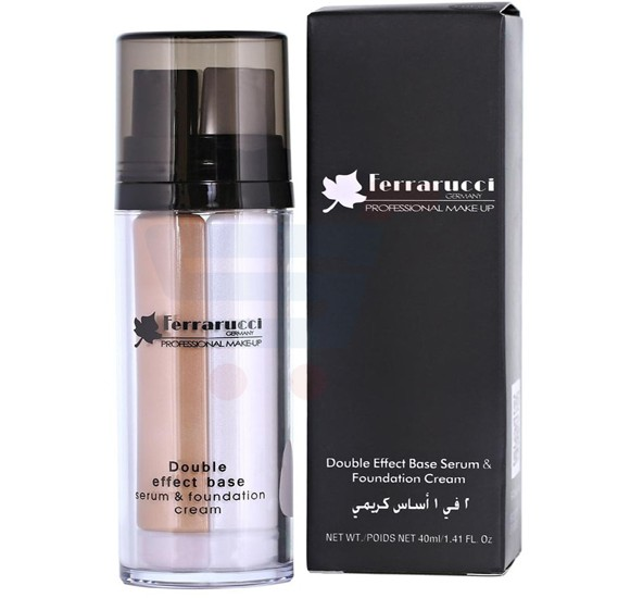 Ferrarucci Double Effect Base Serum and Foundation Cream 40ml, FDF06