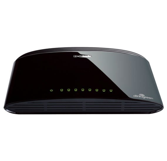 D-Link DES-1008D 8-Port Fast Ethernet Unmanaged Desktop Switch