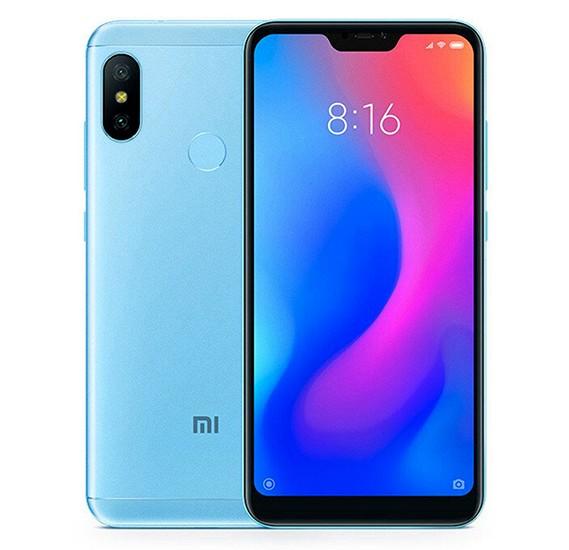 Xiaomi Mi A2 Lite, Dual SIM, 64GB, 4GB RAM, 4G LTE, Blue (Global Version)