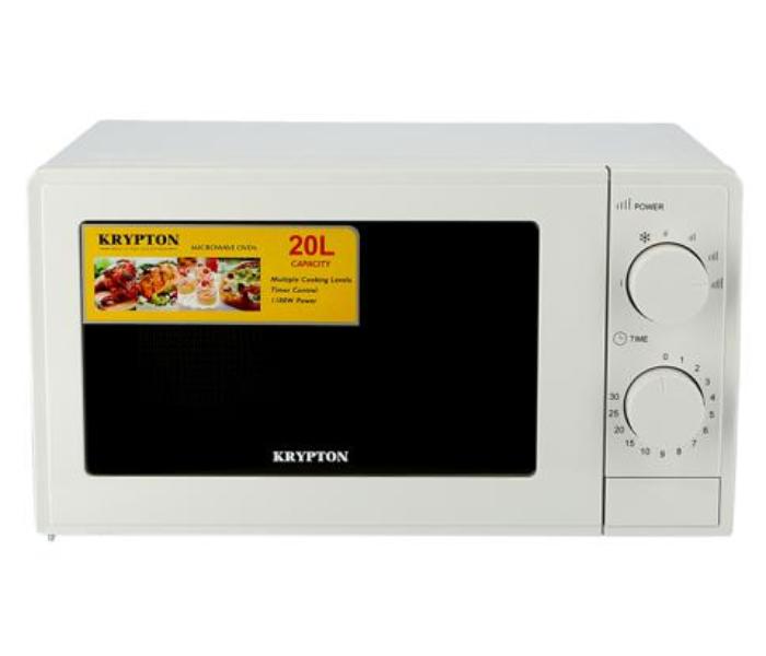 Krypton KNMO6196 700W Microwave Oven, White