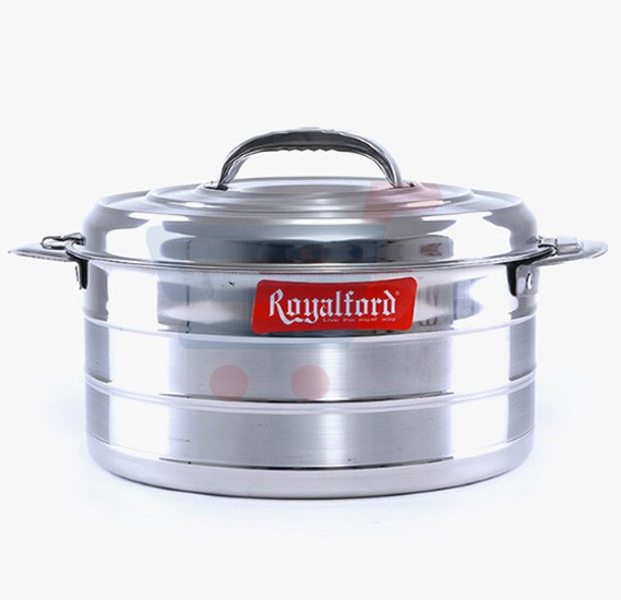 Royalford Steam line Stainless Steel Hot Pot 4Ltr - RF6918