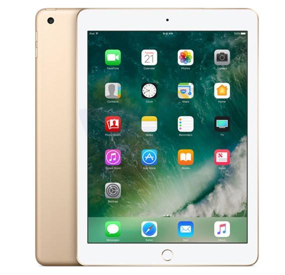 Apple Ipad 5 9.7 Inch 4G Tablet, iOS 11, 2GB RAM, 32GB Storage, Dual Camera - Gold