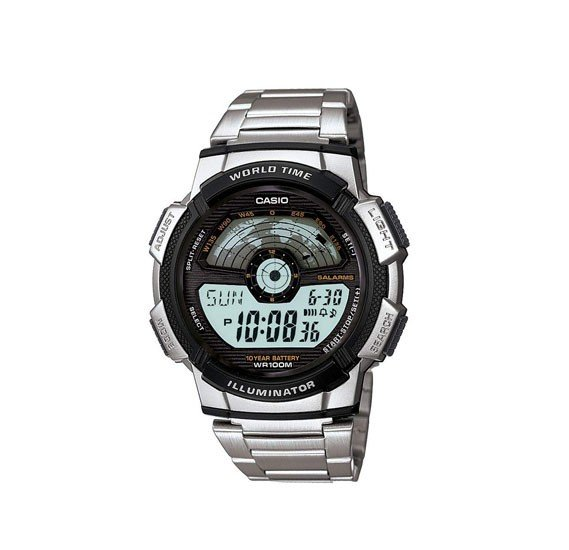 Casio Youth Multi-Color Dial  Watch For Men - AE-1100WD-1AVDF
