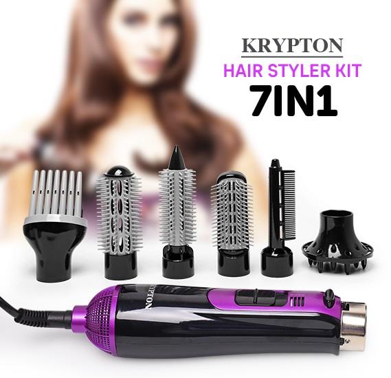 Krypton 7 in 1 Hair Styler Kit, KNH6028