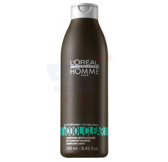 Loreal Homme Cool Clear Anti-Dandruff Shampoo 250ML