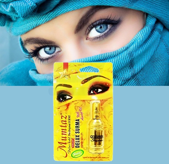 Mumtaz Delux kohl Suruma For Khojati With Almond Oil