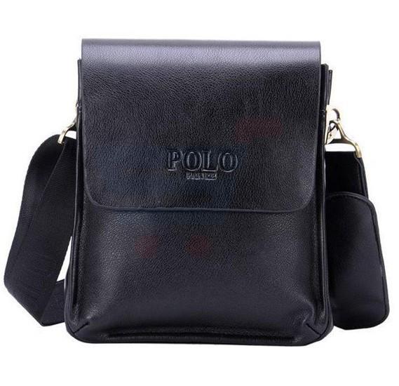 Videng Polo Leather Messenger Bag For Men