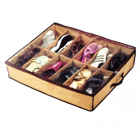 Shoes Under Space-Saving Shoe Organizer