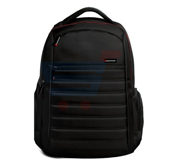 Promate 15.6 Inch Laptop Backpack With Spacious Design Rebel-BP Black