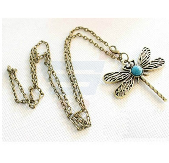 Dragonfly Long Necklace For Women