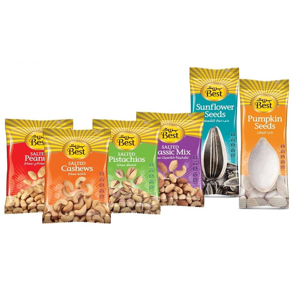 Best Food 6 in 1 SNACK FOR EVERY DAY 50GM Each