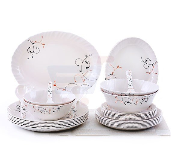 Epsilon  30 Pcs Melamine Ware Dinner Set EN3645