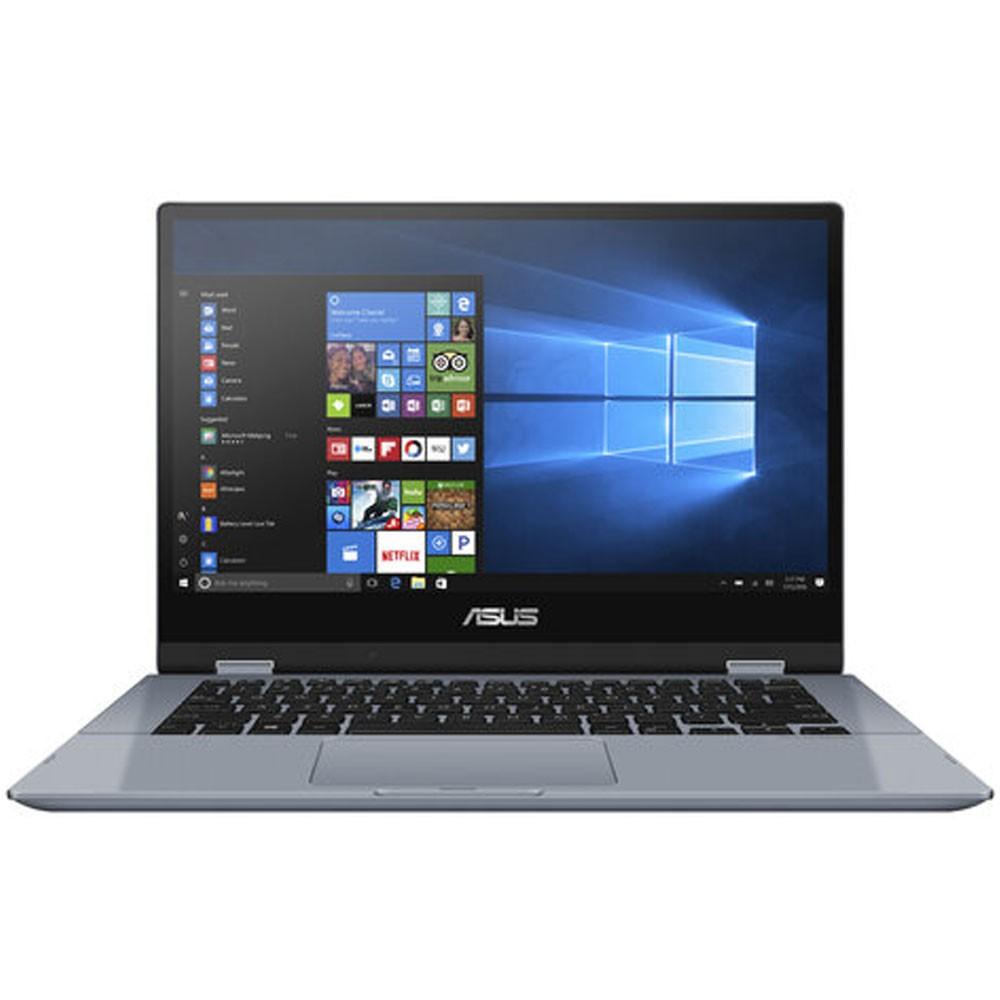 Asus VivoBook TP412 Laptop 14 Touch Display Intel i3 10110U Processor 4GB RAM 256GB SSD Intel HD Graphics Win10, Blue