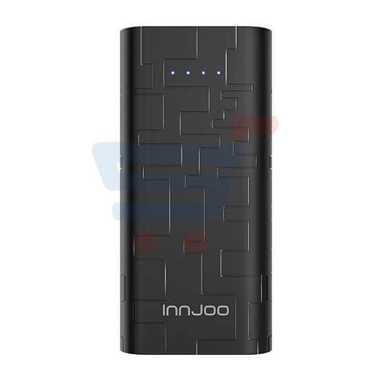 Innjoo Cube 1 5000mAh PowerBank,Dual Port-Black