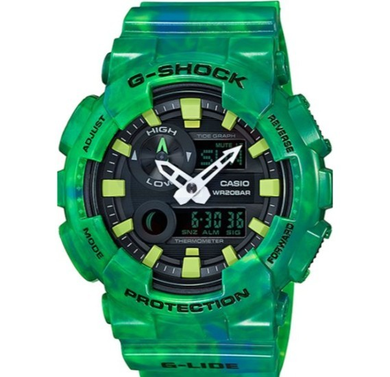 Casio G-Shock Resin Band Watch For Men - GAX-100MB-3A