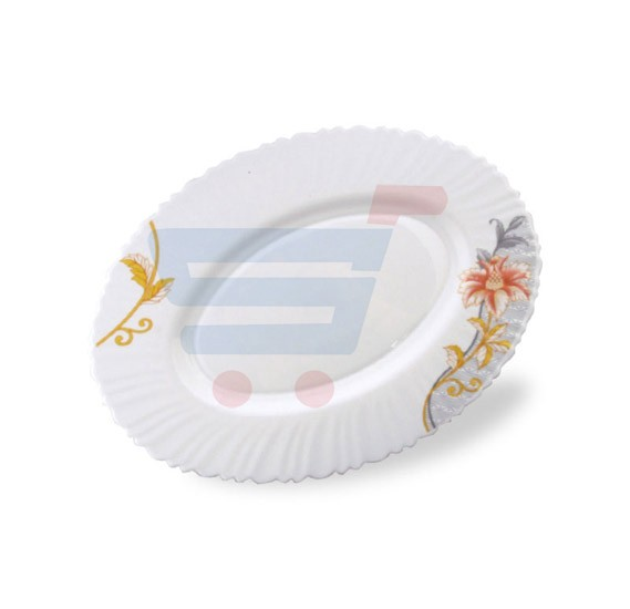 Royalford Opal Ware Oval Plate - RF6096