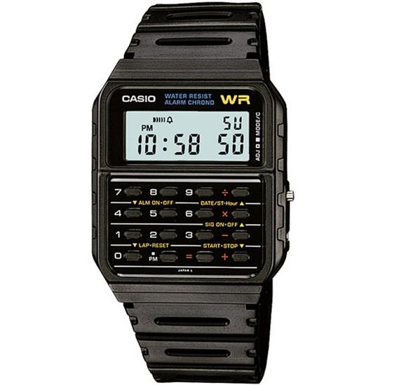 Casio Mens Resin Band Digital Watch CA-53W-1Z (CN)