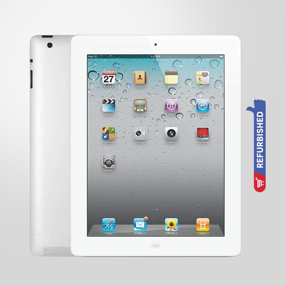 Apple iPad 4 Wi-Fi 64GB Retina Display-Silver Refurbished