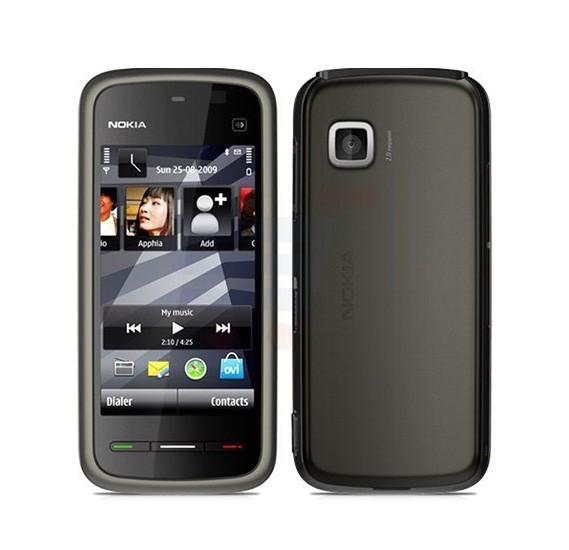 Nokia 5230 Xpress Music Mobile Phone, 3.2 Inch Display, 128MB RAM, Camera, Radio - Black