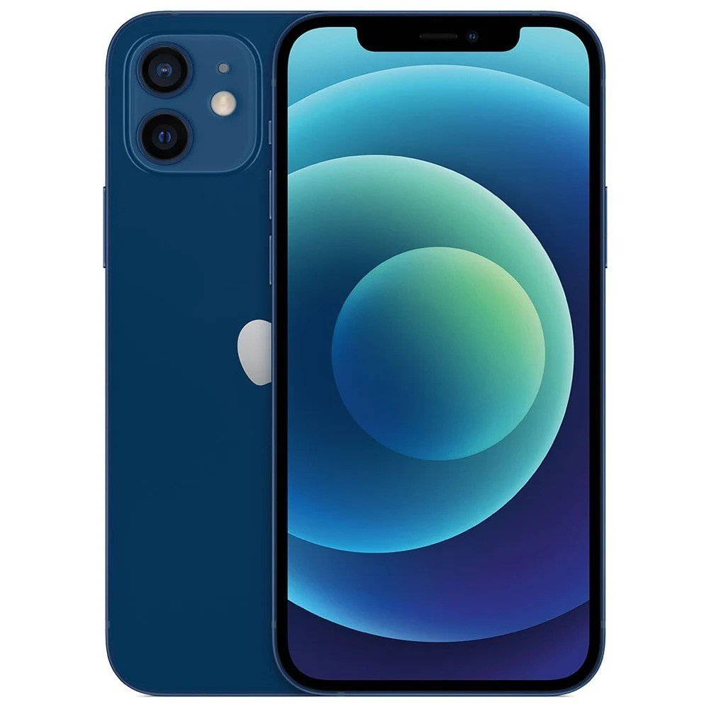 Apple iPhone 12 With FaceTime Blue, 128GB Storage, 5G