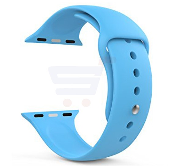 Silicone Sport Replacement Watch Band For Apple Watch 42MM Blue