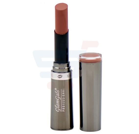 GlamGals Creme Matte Lipstick Dark Coffee - 107