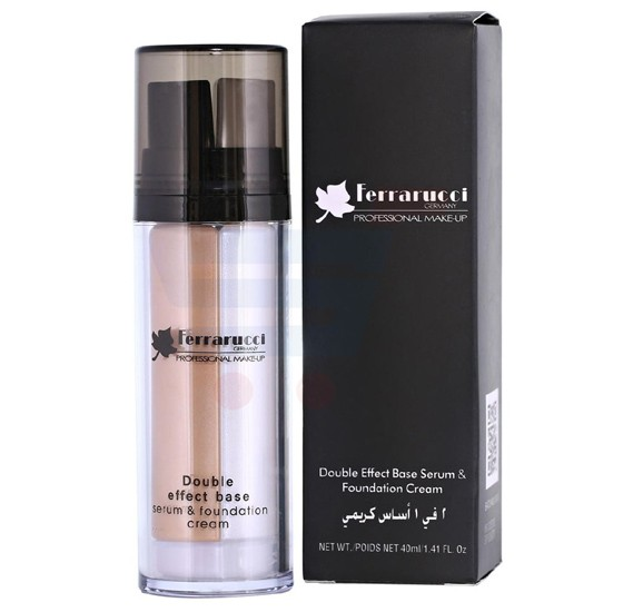 Ferrarucci Double Effect Base Serum and Foundation Cream 40ml, FDF07