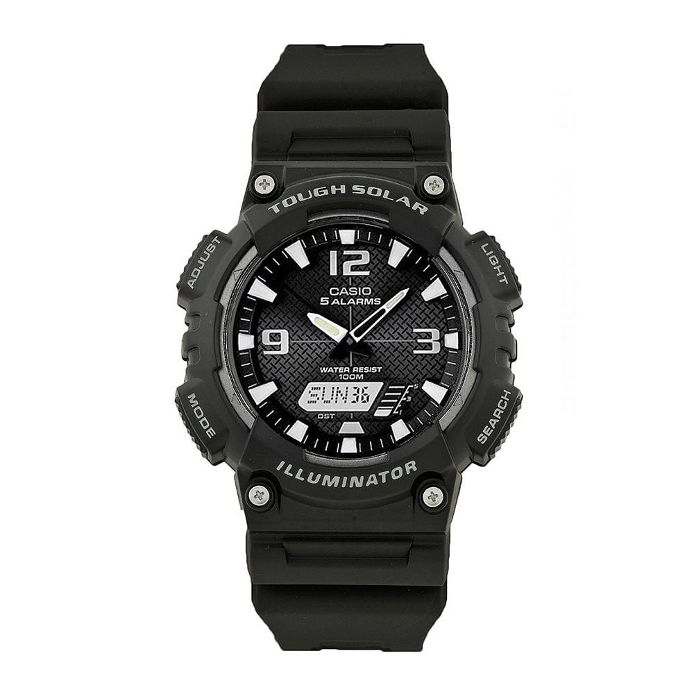 Casio Youth Analog Digital Black Dial Mens Watch, AQ-S810W-1AVDF