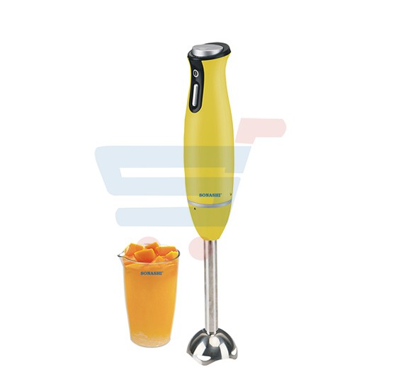 Sonashi Hand Blender With Jar-200w SHB-167(VDE)-Yellow