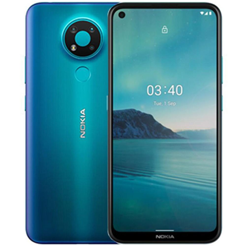 Nokia 3.4 Dual SIM 4GB RAM 64GB 4G LTE, Blue