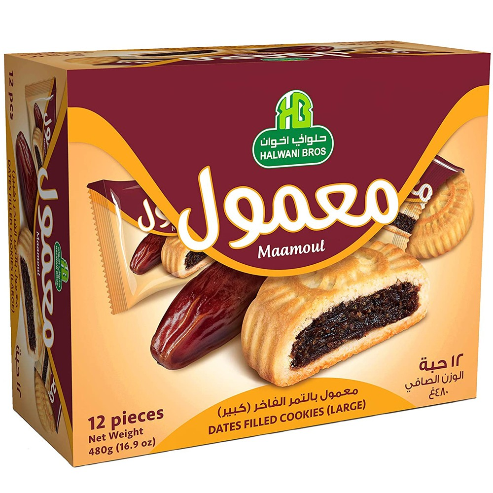 Halwani Maamoul Twinpack 480 GM Special Price,15% OFF