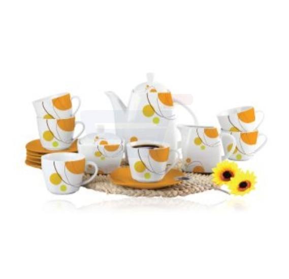 Flamingo Porcelain Tea Set 17 PCS - FL7717PTS