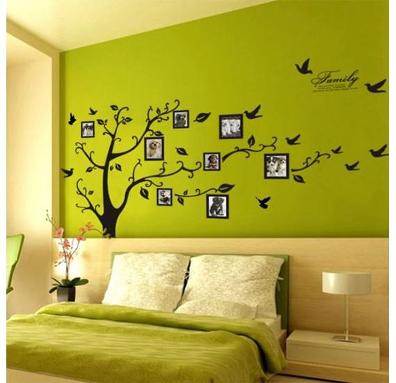 buy photo frame tree wall art stickers vinyl online dubai, uae
