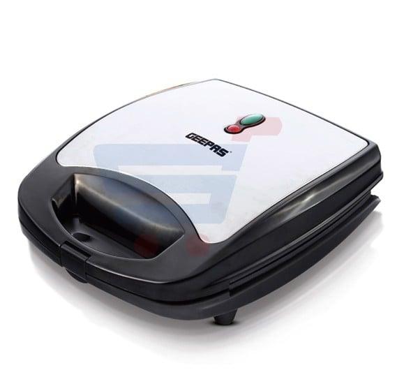 Geepas Sandwich Maker GSM5444, 2 In 1 Detachable Plate