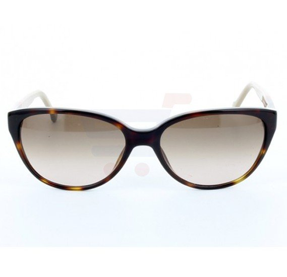 Carolina Herrera Oval Brown Hvana Frame & Brown Mirrored Sunglasses For Women - SHE572-04AP