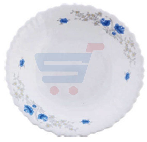 RoyalFord Opalware 14 Oval Plate White - RF5683