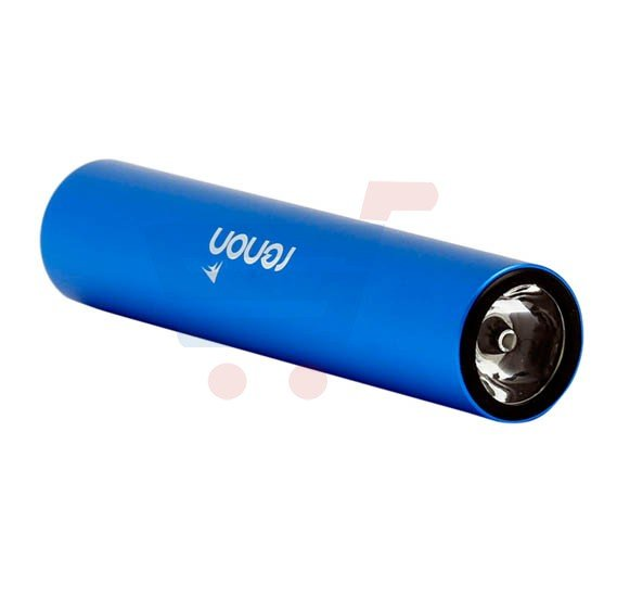 Renon RN-808 Torch Series, 2600 mAh Power Bank With Torch for Mobile Phones, Blue