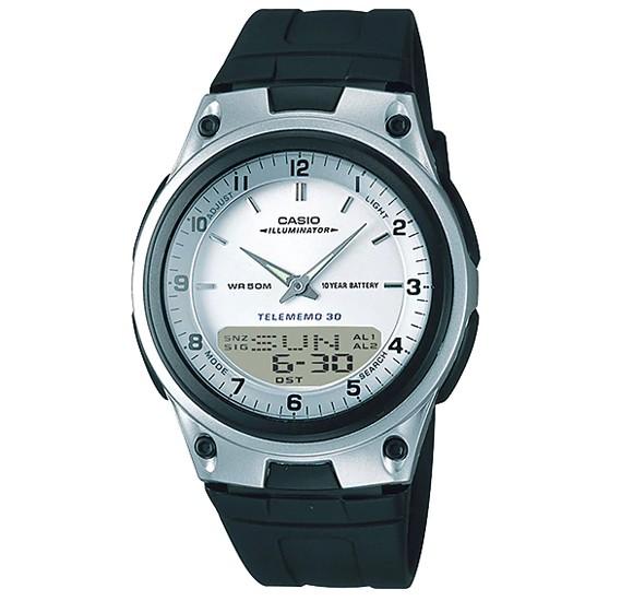 Casio Youth Analog/Digital Watch AW-80-7AVDF