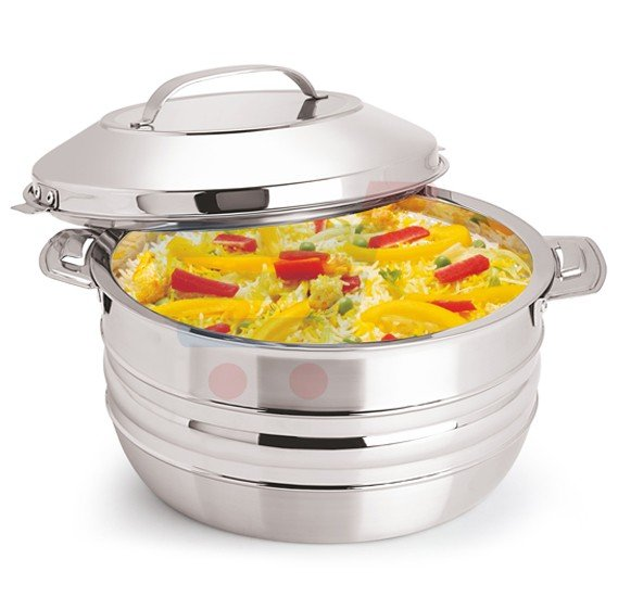 RoyalFord Stainless Steel Esteelo Hot Pot 4Litre, RF8415