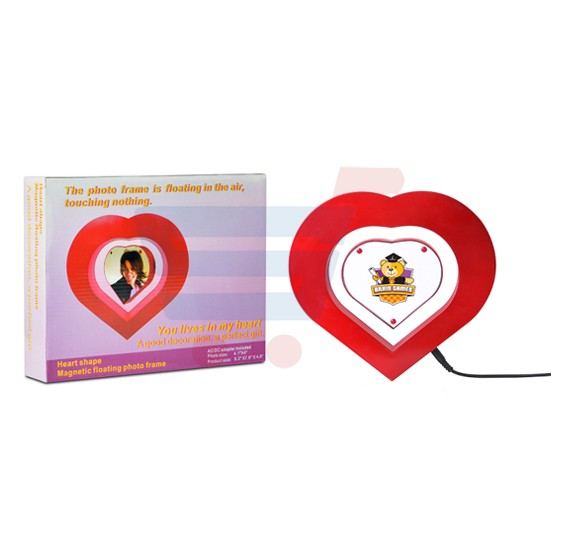 Buy Brain Games Magnetic Heart Shaped Floating Photo Frame Bg 10074