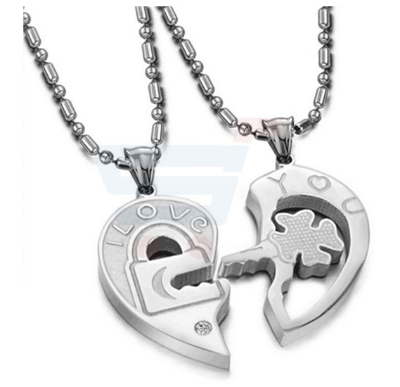 His and Hers Couples Necklaces